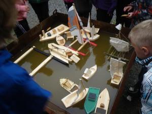 6.klassinger bygger båter