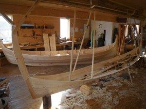 Krumstevning og ny Nordlandsbåt