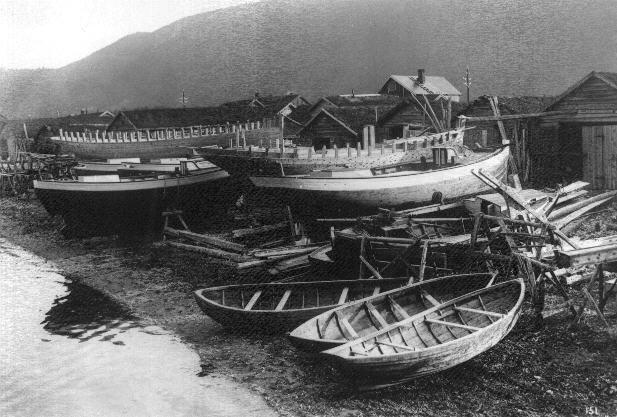 Rognanfjæra ca.1920